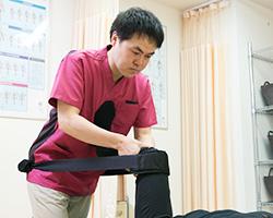膝痛の施術
